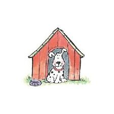 PENNY BLACK RUBBER STAMP IN THE DOG HOUSE PUPPY STAMP