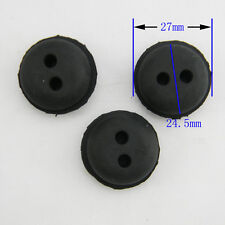 3pcs Rubber Grommet For String Trimmer Lawn mower Chainsaw Craftsman Fuel Tank