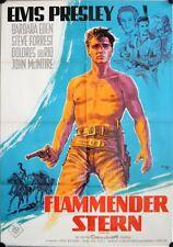 Flammender Stern Filmposter A1 Elvis Presley Klaus Dill Don Siegel Flaming Star