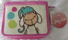 NICI Plush wallet, A Card Coin Purse. Jolly Mah sheep model Gift. Authentic. NEW