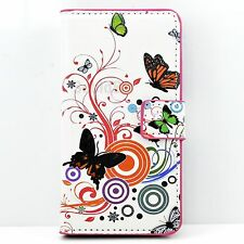 Flip Stand Leather Phone Wallet Cover Case For LG G2 G2 Mini L70 L90 L5 L7 II