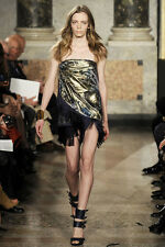 New Emilio Pucci Strapless Runway Dress with  Fringe - RRP $4720