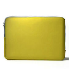 "YELLOW  Zipper Sleeve Bag Case Cover for All Laptop 13"" Macbook / Pro / Air"