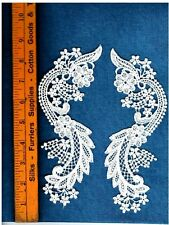 Gorgeous Venise Venice Lace Ivory Appliqué Bridal Trim Rayon Crafts  L&R #1976