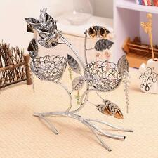 Jewelry Display Tree Necklace Bracelet Earring Stand Holder With Bird Nest