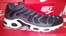 Nike TN 's Tamaño 7 en Negro/Rojo