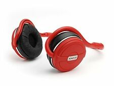NEW Kinivo BTH240 Bluetooth Headphone– Wireless Music & Calling- HOT RED