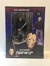 Rare Custom FRIDAY THE 13TH JASON VOORHEES Packaging Signed-Mezco Figure