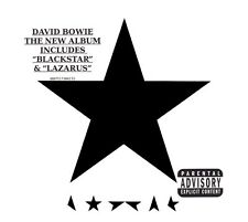 David Bowie - Blackstar (CD 2016) Lazarus Brand New & Sealed