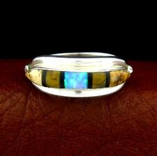 A. Francisco Sterling Silver Ladies Multi Stone Ring Size 8 --- R82 A