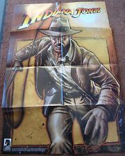 "Dark Horse Indiana Jones Promotional Poster 24"" x 36"" SDCC 2008 Comic Promo OOP"