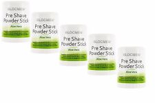 5 x BLOC MEN © pre shave Powder Stick 60g Aloe Vera (100g = 14,83 euro)