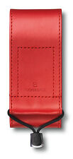 4.0482.1 VICTORINOX SWISS ARMY KNIFE RED LEATHER POUCH COVER CASE for 111mm