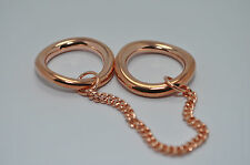 JULES SMITH 14k Rose Gold Plated Chained to You Ring sz 7 $75 NEW