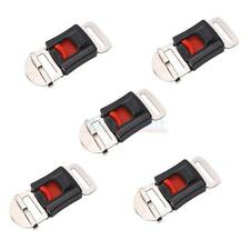 New 5X Motorbike Helmet Lock Speed Clip Chin Strap Quick Release Buckle