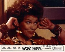 Hand Signed 8x10 photo Lobby Card - GLENDA JACKSON - Beyond Therapy