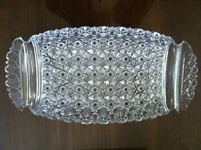 Beautiful Antique American Brilliant Cut Glass Ice Cream Dish, All Russian