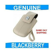 GENUINE Blackberry CURVE 9320 Leather Pouch Case Cover Mobile phone Smartphone
