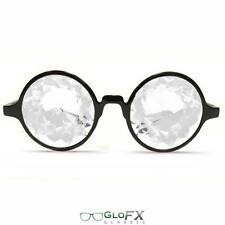 GloFX Kaleidoscope Glasses – Clear for EDM Club Rave Weed Pot Dope Miami WMC EDC