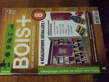8µ? Revue BOIS + n°8 Plans encarté Amenager espace en bibliotheque Meuble ...