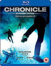Chronicle - Extended Edition (Blu-ray, 2012) NEW AND SEALED