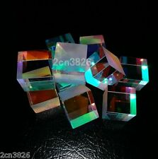 10pcs Defective Optical Glass Laser Beam Splitter Cube Prism Physics Teaching