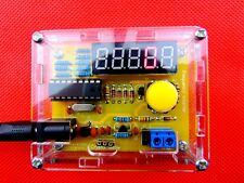 DIY Kits 1Hz-50MHz Crystal Oscillator Tester Frequency Counter Meter + Case DS