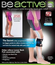 BEACTIVE PRESSURE POINT BRACE - BACK PAIN ACUPRESSURE SCIATIC NERVE - BE ACTIVE