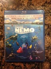 Finding Nemo 3D (Blu-ray+3D+DVD,+Digital Copy 3D/2D)NEW Authentic Disney Release