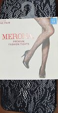 "Merona Premium Fashion Tights Size 1X-Fits 5'5""-5'11"" 180 -230 Lbs  ~ Item# 5087"