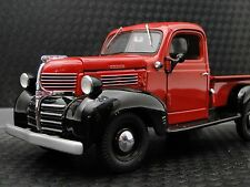 Dodge 1 Pickup Truck 1940s Sport Hot Rod Vintage Classic Car 18 Carousel Red 24