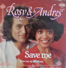 "7"" 1977 NL-PRESS RARE  VG+++ ! ROSY & ANDRES : Save Me"