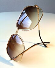 vintage CAZAL 727 col 97/23 gold plated W.Germany rare sunglasses 616 607 951