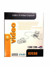 Ezcap116 USB 2.0 Video Capture per XP, Vista, Windows 7/8 32bit / 64bit PS3 XBOX360