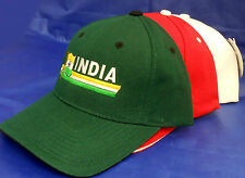 HAT WITH INDIA  FLAG COUNTRY  # 657