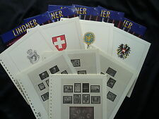 LINDNER T181/85 VORDRUCKE LUXEMBURG 1985-2003 WIE NEU !!!!