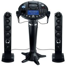 "SINGING MACHINE FRONT LOAD CD+G KARAOKE PLAYER SYSTEM 7"" COLOR SCREEN MIRCOPHONE"