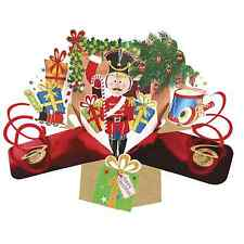 Christmas Nutcracker Pop-Up Greeting Card Second Nature 3D Pop Up Cards