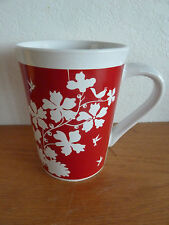 Royal Norfolk Coffee Mug  Floral w/ Birds in a Tree      4 5/8""