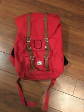 USED Herschel Little America Backpack Mid Volume Limited Red Version