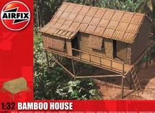 Airfix Bamboo House Bambushaus Dschungel Tropenhaus 1:32 Modell-Bausatz TIPP kit