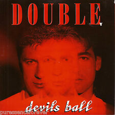 """DOUBLE - Devils Ball (UK 2 Track 1987 7"""" Single PS)"""