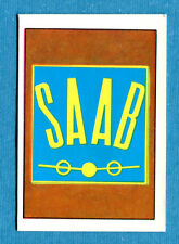 AUTO FLASH - Ed.COX - Figurina/Sticker n. 207 - SAAB (S) -New