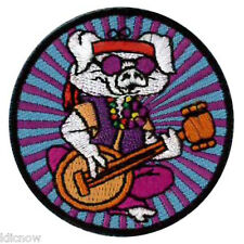 "Hippe Pig Embroidered Patch 5CM (2"" Dia) approx"