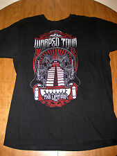 VANS WARPED TOUR lrg T shirt punk tee 2012 Anti-Flag THE USED Funeral Party