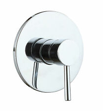 Round Style Shower Head Bath Hot and Cold Mixing Mixer Faucet Tap Vontrol Valve