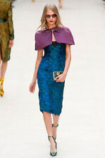 Burberry Prorsum Runway Limited Edition Peacock Feather Embellishd Dress $10,000