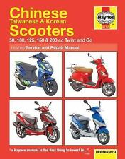 2004-2009 Chinese Taiwan Korean 50-200cc Twist & Go Scooter Repair Manual 6460