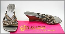 GAMINS WOMEN'S SLIP-ON OPEN-TOE FASHION SANDALS SHOES SIZE 8 AUST 39 EURO