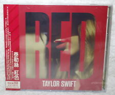 Taylor Swift RED Deluxe Version Taiwan 2-CD w/OBI (No:3717314A)